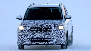 Volkswagen T-Cross - spy shot full front