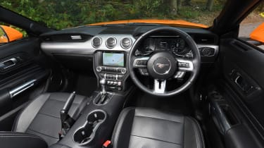 Ford Mustang Convertible - interior
