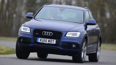 """""""Compared to the softly sprung NX, the Q5 feels like a high-riding car, with composed handling and plenty of grip."""" - James Disdale, road test editor."""