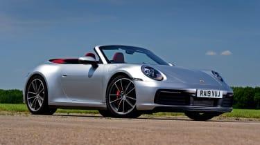 Porsche 911 Cabriolet - front static