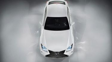 Lexus RC 300h F Sport sports car
