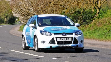 Ford Focus LPG front action