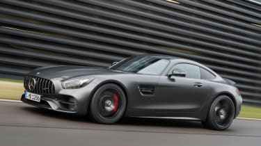 Mercedes-AMG GT C Edition 50 - side tracking