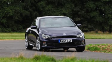 VW Scirocco R-Line - front cornering