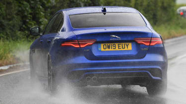 Jaguar XE - rear cornering