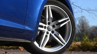 Audi A5 - wheel detail