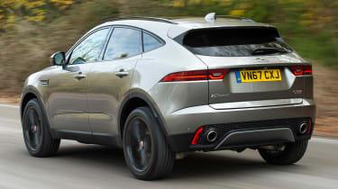 Jaguar E-Pace review - rear