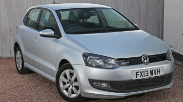 Used Volkswagen Polo - front