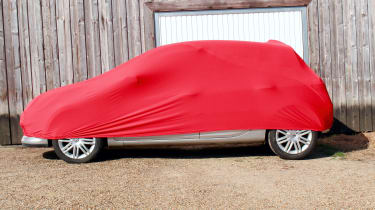Morethanpolish Satin Soft Stretch Indoor Car Cover