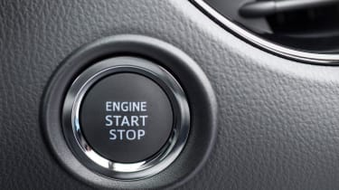 Toyota C-HR - start/stop button