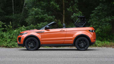 Range Rover Evoque Convertible - roof opening
