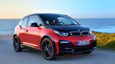 BMW i3s - front action