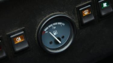 Long-term test review: Caterham 310S - fuel gauge