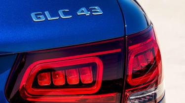 Mercedes-AMG GLC 43 2019 facelift lights