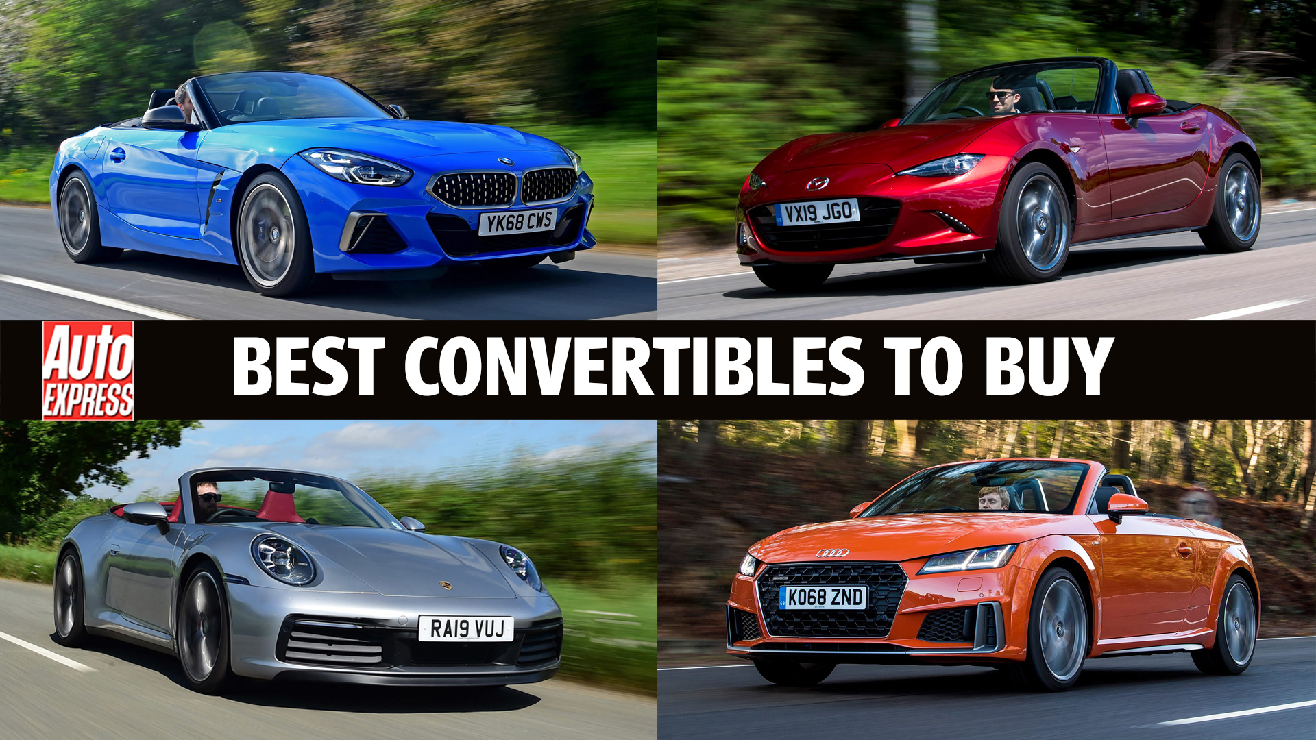 Best Convertible Cars Cabriolets To Buy This Year Auto Express