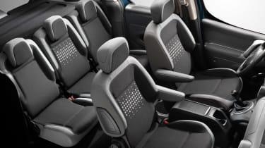 Citroen Berlingo Multispace 2015 seats