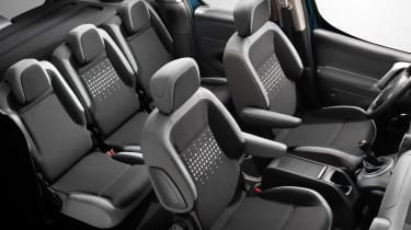 Citroen Berlingo Multispace 2015 seats