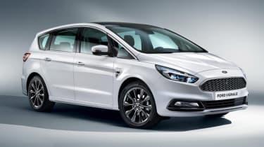 Ford S-MAX Vignale - press white front quarter