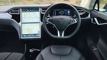 Used Tesla Model S - dash