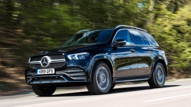Mercedes GLE - front tracking