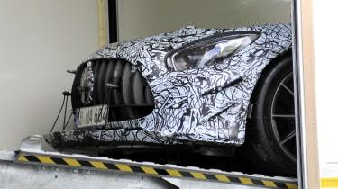 Mercedes AMG GT R Black Series - front spy