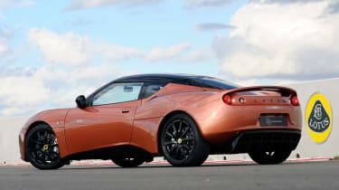 Lotus Evora 414E rear three-quarters
