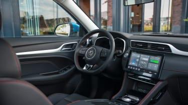MG ZS EV facelift - interior