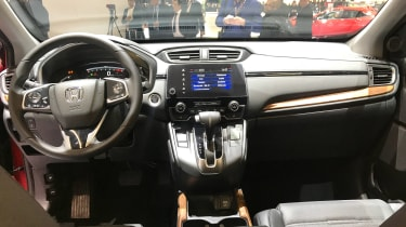 Honda CR-V - Geneva dash