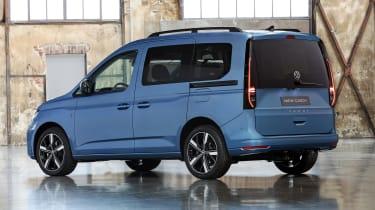 2020 Volkswagen Caddy - rear blue