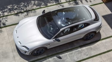 Porsche Mission E Cross Turimso - above static