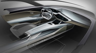 Audi Q6 e-tron interior