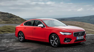 Volvo S90 T4 side