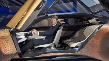 BMW Vision Next 100 doors open