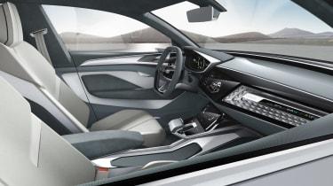 Audi e-tron Sportback concept - front seats