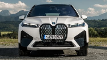 BMW iX - full front