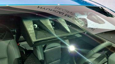 Hyundai Ioniq autonomous concept - show sensor