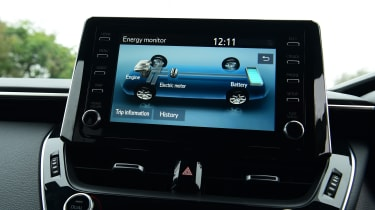 Suzuki Swace touchscreen