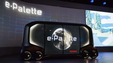 Toyota e-Palette - CES side