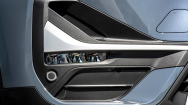 BMW X1 review - grille