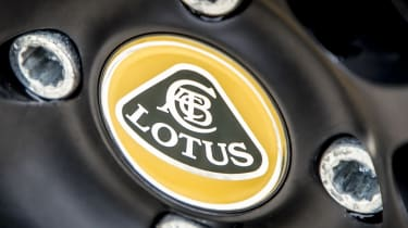 Lotus Elise wheel badge