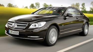 The CL is a luxury two-door, which is based on the S-Class limo.
