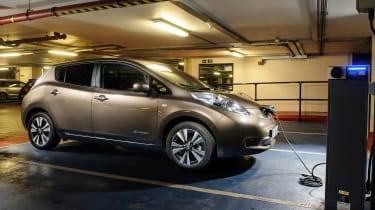 Nissan Leaf 60kWh - front charging