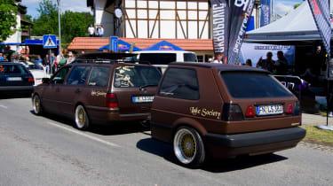 VW Golf trailer Worthersee