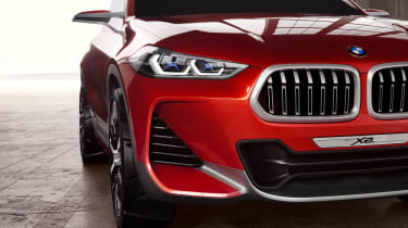 BMW X2 Concept - front detail 3