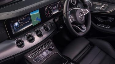 Mercedes E-Class Cabriolet cabin