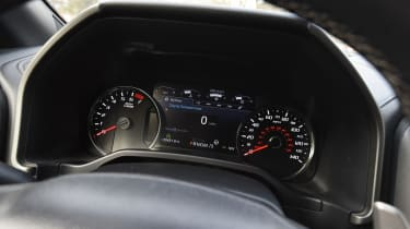 Ford F-150 Raptor pick-up truck - speedo