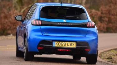 Peugeot 208 - rear cornering