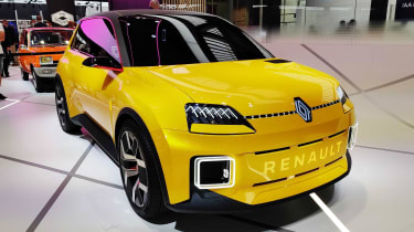 Renault 5 at 2021 Munich show