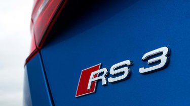 Audi RS 3 - rear badge