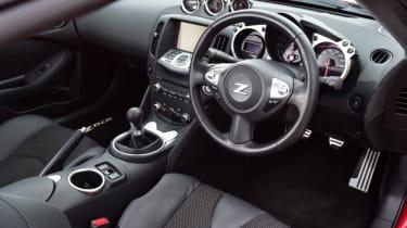 Nissan 370Z GT –interior front